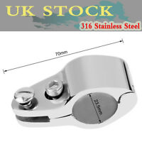 """7//8/"""" Boat Bimini Top Fitting 22mm Jaw Slide Hinged Marine 316 Stainless Steel os"""