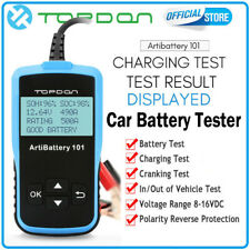 TOPDON AB101 Car Battery Tester Analyzer Cranking Charging Test 12V CCA100~2000