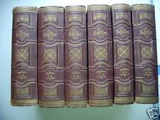 12 Bd./6 Bücher Schillers sämmtliche Werke1875 Schiller