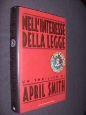 Nell'interesse della legge A. Smith Mondadori 1995 fo ^