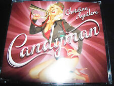 Christina Aguilera Candyman / Candy Man Rare Australian CD Single