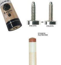 Lucasi Hybrid LHX-14/18SR 12.75mm Shaft - 5/16x14 or 5/16x18 Silver Ring Collar