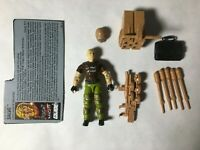 GI JOE ARAH Salvo 1990 V.1 Complete With Filecard