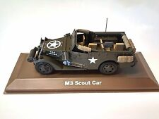 M3 SCOUT CAR 1:43 SCALE - DIECAST MILITARY VEHICLE ARMY CAR ATLAS WWII - 20