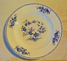C20 Ancienne assiette Boch La louvière grand bouquet décor à la mouche 2