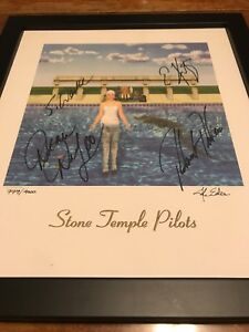 Stone Temple Pilots Rare Oop Scott Weiland Signed Autograph Autographed STP