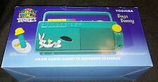 New Toshiba Looney Tunes AM/FM Radio Cassette Recorder LT400 Bug (1995) Freeship