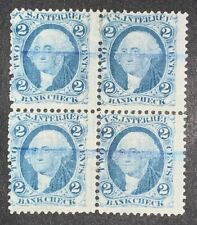 Travelstamps: US Stamps Scott #R5c Block of 4 Used NG