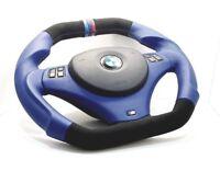 BMW Steering Wheel custom flat bottom E90 M3 M1 E91 E92 E93 E81 E82 E88 335i