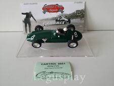 Slot car SCX Scalextric Cartrix 0951 BRM P25 1958 Harry Schell #8 Monaco G.P.