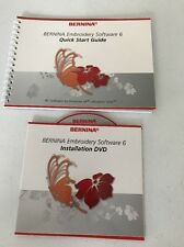 Bernina Embroidery Software 6 Installation Replacement Cd (No Dongle)