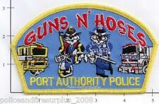 New York New Jersey - NY NJ Port Authority Guns and Hoses Airport Fire Patch