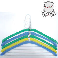 """Foam Cover Garment Protector Shoulder Guards for 40cm 16"""" Wire Hangers Laundry"""