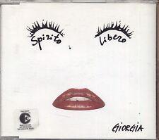 GIORGIA - Spirito libero - CDs SINGLE 2003 NUOVO NON SIGILLATO