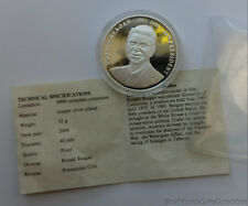 American Mint Ronald Reagan Copper Silver Overlay Coin