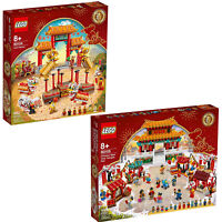 LEGO 80104 Lion Dance 80105 New year temple festival SET 2020 Chinese New Year