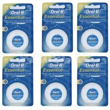 24 x Oral B Floss Essential Regular Floss, Dental Unwaxed Floss