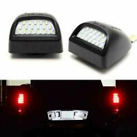 BRIGHT SMD LED License Plate Lights Lamp For 1999-2013 Chevy Silverado Avalanche