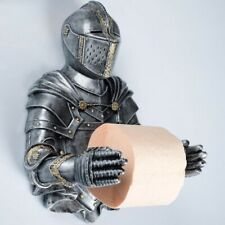 Silver Knight Toilet Paper Holder - Wall Mounted Toilet Paper Holder