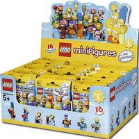 LEGO 71009 BOX COMPLETO SIGILLATO 60 BUSTINE MINIFIGURE SIMPSONS SIMPSON SERIE 2