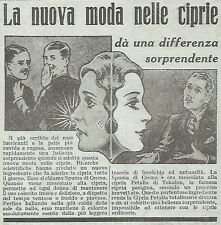 W7333 Cipria Petalia - Pubblicità del 1932 - Old advertising