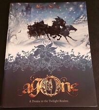 Agone KING OF SPRING Twilight Realms Fantasy RPG SC Book Multisim Publishing NEW