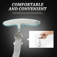 50kg/10g Portable Digital LCD Hanging Scale Electronic Luggage Weighing Scale