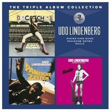 UDO LINDENBERG - TRIPLE ALBUM COLLECTION USED - VERY GOOD CD