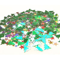 Hot Merry Christmas Santa Trees Deer Table Scatter Confetti Party Venue Decors