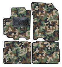 Armee-Tarnungs Autoteppich Autofußmatten Auto-Matten Suzuki SX4 S- Cross ab 2013