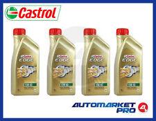4 LITRI OLIO MOTORE CASTROL EDGE 10W60 FST TITANIUM A3/B4 BMW 04 VW 50500 50501