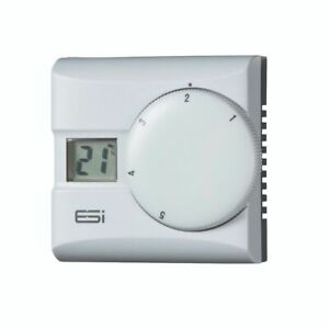 Esi Controls Electronic Digital Room Thermostat with TPI ESRTD2