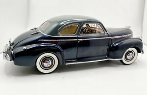 Danbury Mint Limited Ed 1941 Chevrolet Special Deluxe Coupe - 1:24 - Mint W/ Box