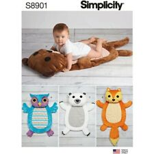 Simplicity Sewing Pattern 8901 Baby Accessories Tummy Mats With Pillow