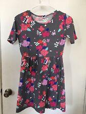 Euc Girls Gymboreee Floral Dress Sz Xl(14)