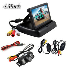 "Wireless 4.3"" LCD Car Rear View Parking Monitor Kit + Night Vision Backup Camera"