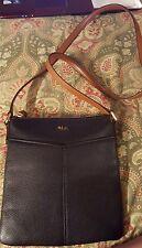 Ralph Lauren black handbag shoulder bag purse