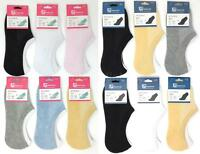 6 Pairs Invisible Sport Socks Hidden Liners Foot Cover Footies No-Show Low Cut