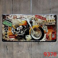 Metal Tin Sign route 66 motel Decor Bar Pub Home Vintage Retro Poster Cafe ART