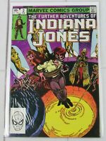 The Further Adventures Of Indiana Jones #2 February 1983 Marvel Comics