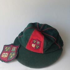 Vintage 1950's Scout Cap And Badge