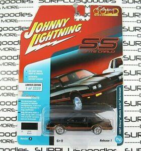 Johnny Lightning 2018 Classic Gold R1 Black 1987 CHEVROLET MONTE CARLO AEROCOUPE
