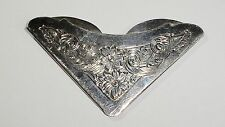 Vintage Gorham Sterling Silver Floral Design Book Mark, No Mono, #70