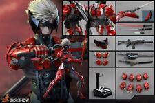 =MIB=Hot Toys VGM19 Raiden Metal Gear Rising Revengeance (Inferno Armor Version)