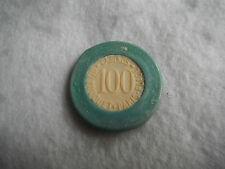 RARE ancien jeton de 100 du Casino du Touquet Paris-Plage N°1