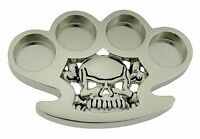 Skull Belt Buckle Skeleton Metal Gothic Tattoo Halloween Costume Rock Rebel Logo