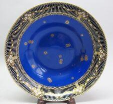 "Superb Hand-Painted 12"" Royal Worcester Center Bowl c. 1919 Antique Porcelain"