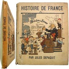 Histoire de France pour les mômes 1928 illustré Jules Depaquit Mac Orlan