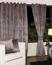 Rideaux et cantonnières gris moderne pour la chambre à coucher