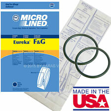 40 Bags for Eureka Style F&G Vacuum Cleaner F G Sanitaire Commercial + 8 Belts
